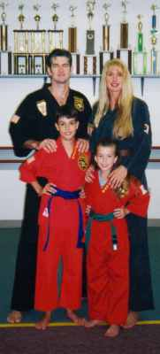 The Heimberger's 2nd and 3rd generation of Martial Artists